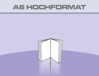 Broschüren A6 Hochformat