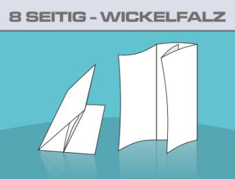 Folder A5 8 Seitig Wickelfalz