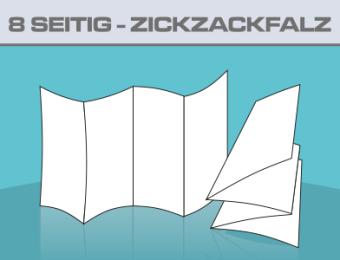 Folder A5 8 Seitig ZickZackfalz