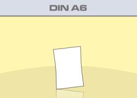 Flyer DIN A6 - Produktübersicht