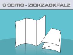Folder 6 Seitig ZickZackfalz