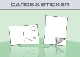 Postkarten & Aufkleber