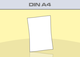 Flyer Din A4 - Produktübersicht