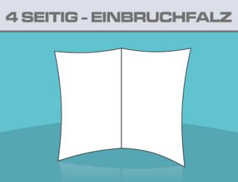 Folder A5 4 Seitig Einbruchfalz