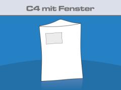 Briefumschläge C4 mit Fenster