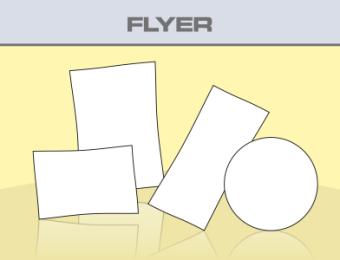 Flyer - Produktübersicht